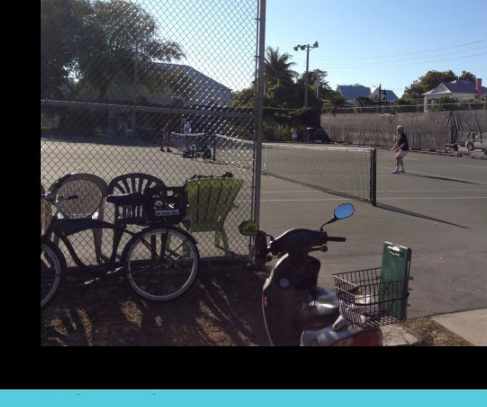 Tennis courts in Key West