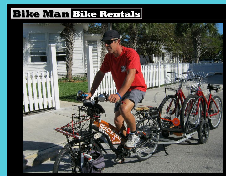 Bikeman Bike Rentals In Key West Florida Bicycle Service