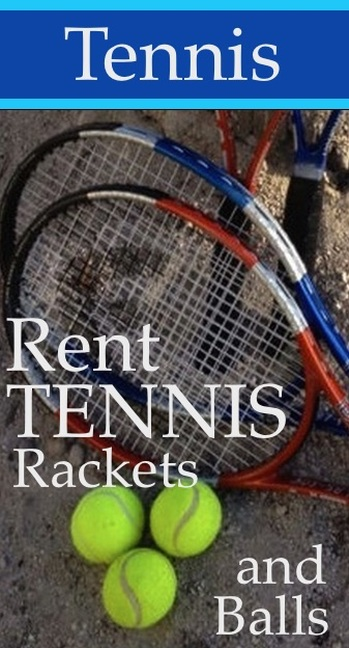 Tennis Rackets for rent in Key West