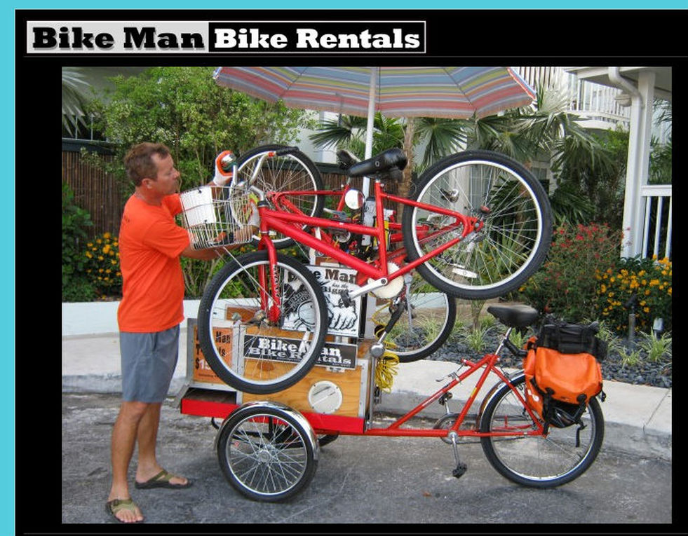bicycle rentals key west Florida