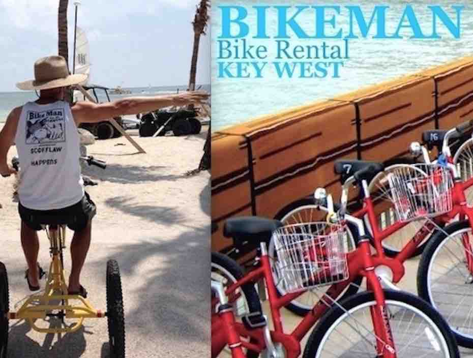 bike rentals in key west