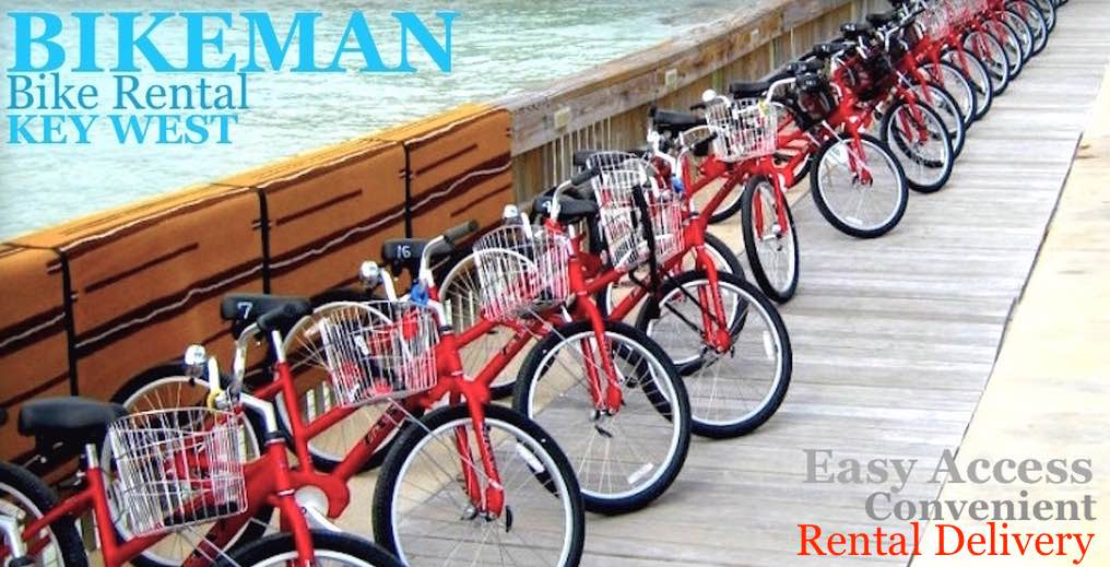 bicycle rental in key west with fat tires