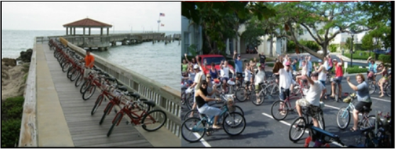 Key West Bike Rentals For Groups